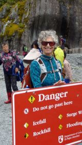 Franz Josef Glacier warning sign